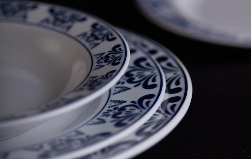 platos-vajilla-azul